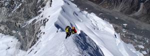 Klättra Island Peak