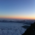 Klättra Mt Blanc