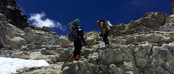 Aconcagua close Camp Colera