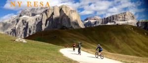 Bästa mountainbikingen i Dolomiterna