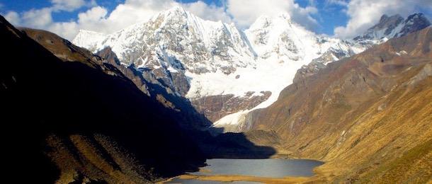 Vandra Huayhuash i Peru