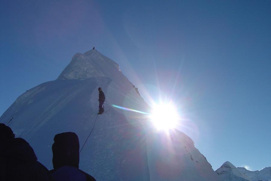 Klättra i Nepal med adventurelovers.se