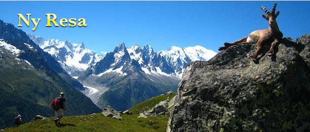 Alpvandring Tour du Mont Blanc med adventurelovers.se
