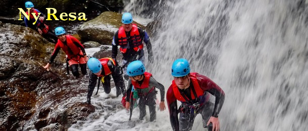 Multisport i Wales med adventurelovers.se